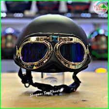 Mũ nửa đầu Doremon đen - Nón bảo hiểm đạt chuẩn, cao cấp, dày dặn giá cạnh  tranh
