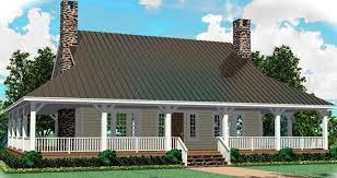 wrap around porch open floor plan house plans home building