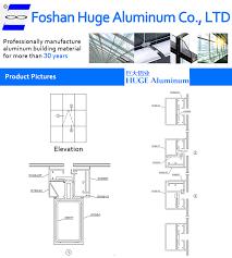 china manufacture curtain wall details dwg aluminun curtain wall