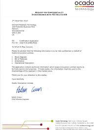 Rcombcm001 Rcom Bcm Oca P1838 Ass 001 Cover Letter Confidentiality