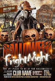 Halloween Flyers Templates Halloween Fright Night Flyer Template