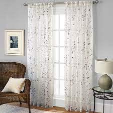 pinch pleat sheer curtains. Willow Print Pinch Pleat Sheer Window Curtain Panel Curtains