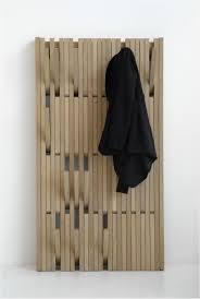 wall mounted coat rack with folding hooks fold up clothes hanger with modern wooden folding wooden