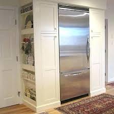 built in refrigerator cabinet. Built In Wine Fridge Cabinet Refrigerator Cabinets Around Viking Inch Bottom Freezer H