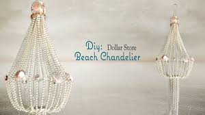 beach chandelier dollar tree diy