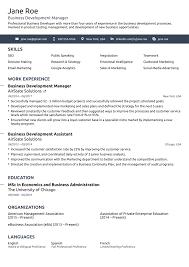 Work Resume Template