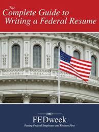 Federal Job Resume Books Publications