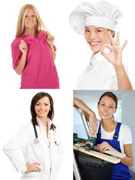 Attractive Berufsbekleidung Damen