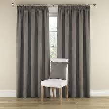 Living Room Ready Made Curtains Grey Harrison Lined Curtains With Pencil Heading Grey