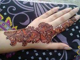 Image result for how to make your mehendi darker apply lemon