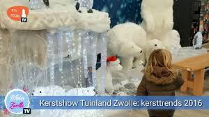Kerstshow Bij Tuinland Zwolle 2016