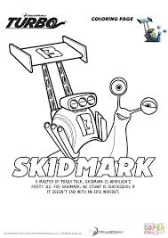 Small Picture Skidmark from Turbo coloring page Free Printable Coloring Pages