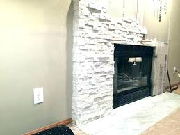stone tile for fireplace white outdoor ideas creating a with regard to idea stacked over