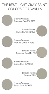 Best Light For Painting The Best Light Gray Paint Colors For Walls Light Grey