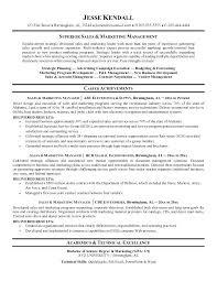 Sales And Marketing Manager Resume Sample Marketing Sales Marketing