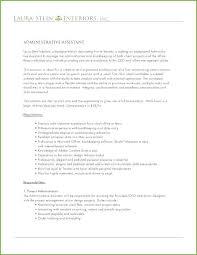 Admin Job Profile Resume Project Administrator Job Description Template
