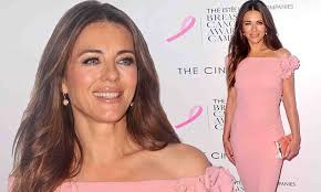 liz hurley speaks about pain caused by grandmother s from t cancer daily mail