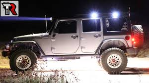 Jeep Jk Roof Lights The Perfect Compact Led Lights For My Roof Rack