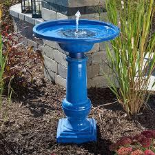 solar bird bath fountain you ll love in