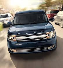 2018 ford flex. Delighful Flex Front View Of 2018 Flex Limited Intended Ford Flex O