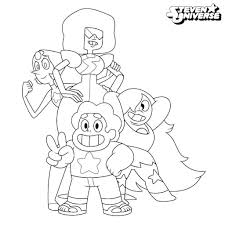 Steven Universe Coloring Pages Characters Get Coloring Page