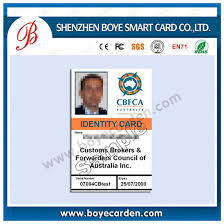 Printable Identification Card China Employee Id Card For Access Control Attendence Re Printable