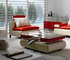 vig furniture vgbnb205 vig divani casa b205 ultra modern white red leather sectional sofa set