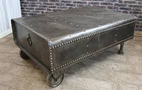industrial steel furniture. This Steel Tank Coffee Table Is A Unique Piece Of \u0027one Off\u0027 Industrial Style Furniture. Large Diesel Converted Into Furniture L
