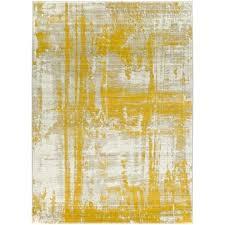 lemon kitchen rug street light gray gold area slice rugs