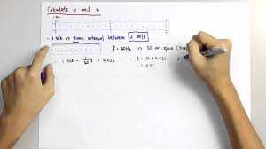 Physics Ticker Tape Calculations