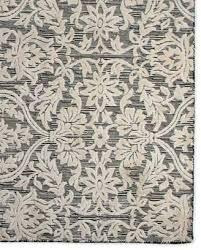 mackenzie childs rugs ivory scroll rug 2 x 6 8 outdoor kitchen bath