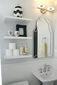 white bathroom shelves living spectacular bathroom with gray walls framing white floating shelves filled with target white bathroom shelves
