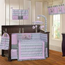 image of target elephant crib bedding