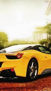 Ferrari 458 Spider Yellow #iPhone #6 ...