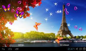 3d wallpaper download. Plain Download 3D Eiffel Tower Live Wallpaper Screenshot 15 And 3d Download