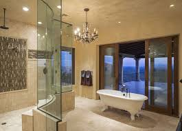 Luxury master bathroom suites Fancy Welcome To Our Gallery Of Bathroom Chandelier Ideas Bathroom Chandelier Can Bring Feeling Of Luxuriance To Your Space And Help You Create The Ultimate Designing Idea 27 Gorgeous Bathroom Chandelier Ideas Designing Idea