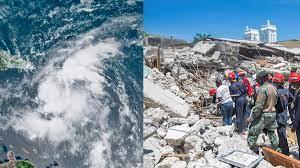 """เฮติสังเวยดินไหวพุ่ง 1,300 ราย เจ็บเกินครึ่งหมื่น-สุดช้ำพายุ """"เก"""
