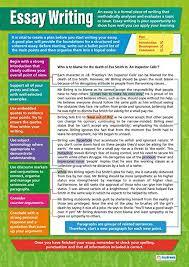 Essay Writing English Posters Laminated Gloss Paper