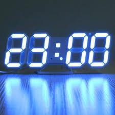 digital office wall clocks digital. Wall Clocks Digital Modern Led Clock Alarm Display Temperature For Home Kitchen Office