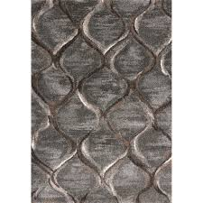 landscapes charcoal groove 5x8 area rug