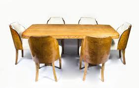 art deco furniture. 07006-Antique-Art-Deco-Dining-Table-6-Cloudback- Art Deco Furniture