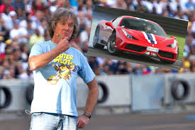 Then goes for a reasonably fast drive. James May Orders Ferrari 458 Speciale Then Clarkson Punches A Producer