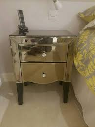 next mirrored furniture. 2 Next Gats Mirrored Bedside Tables In Ipswich Suffolk Gumtree Inside Proportions 768 X 1024 Furniture Q