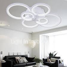 1 of 10free acrylic modern led ceiling chandelier lights for livingroom bedroom home lamp