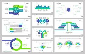 Diez Plantillas De Diapositivas De Flujo De Trabajo Descargar