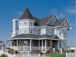 Plan H    Great House DesignCountry Victorian Home  H