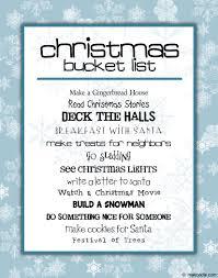 Free Christmas List Template Christmas Family Activities Free Printable Makoodle 23