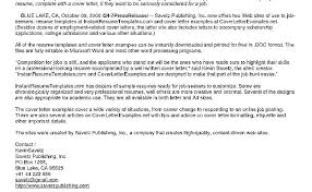 How To Write An Awesome Cover Letter Good Cover Letter Examples For