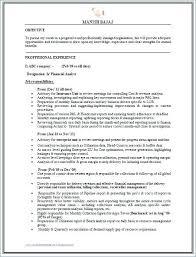 Mis Resume Samples Best of Mis Report Format For Accounts Globalhoodorg
