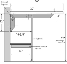 designed so that the eclipse bracket can be mounted under a previously installed surface included are 4 8 x 1 1 2 s
